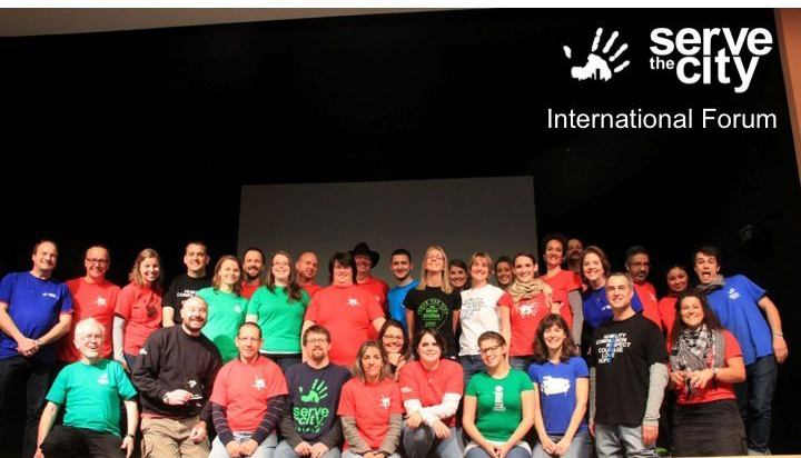 Serve The City Internationl Forum 2013 Berlin